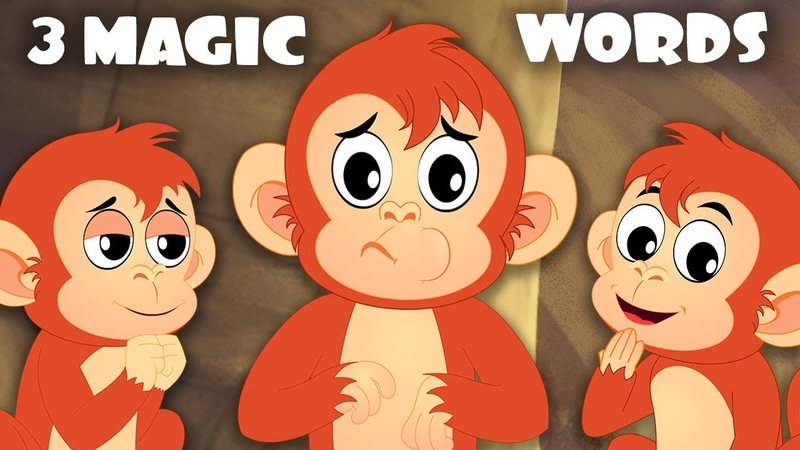 I Am Sorry, Please and Thank You Song | Little BoBo Nursery Rhymes | FlickBox Kids 3 Magic Words