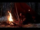 WINTER CAMPING BUSHCRAFT - Chaga Tea - Chilli Con Carne - Bushcraft
