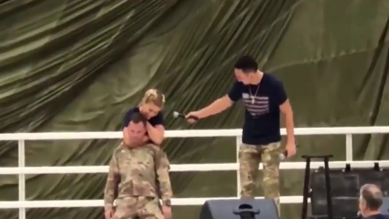 Paige VanZant RNC's Marine Till He Goes Out