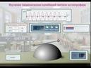Виртуальная лабораторная работа Изучение гармонических колебаний гантели на полусфере