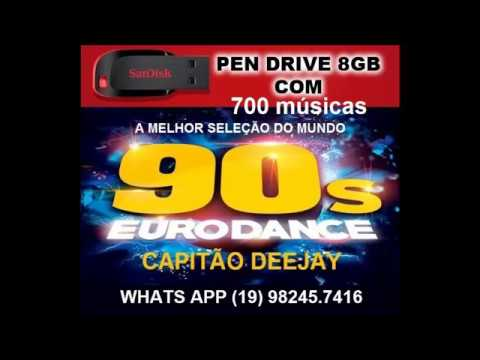 DANCE 90,91,92,93,94,95,96,97,98,99, Pen drive 8GB Whats App (19) 982457416 com 700 Músicas