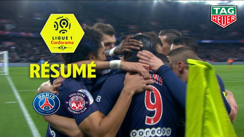 Paris Saint-Germain - Toulouse FC ( 1-0 ) - Résumé - (PARIS - TFC) / 2018-19