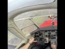 Штопор на Як 18 аэродромподстепки Подстепки