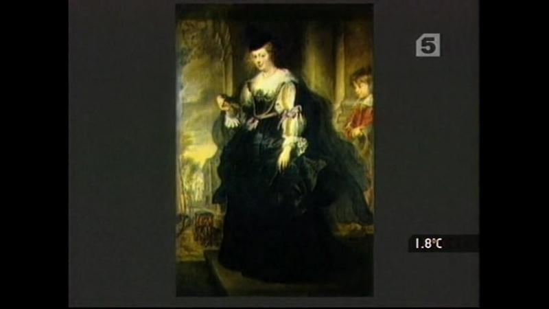 Палитры 21 серия Торжество плоти. «Елена Фурман с коляской»Рубенса(1639, Лувр)