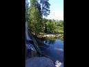 Котка. Финляндия. Водопад.