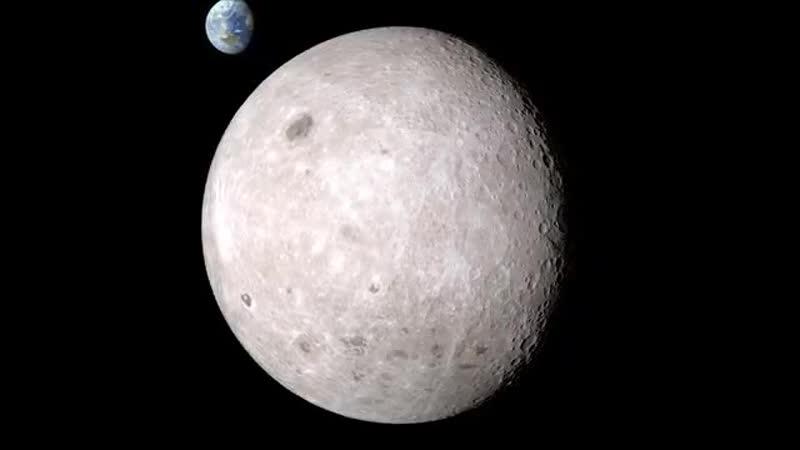 Обратная сторона Луны, скрытая от глаз человека, вышла из тени благодаря NASA.
