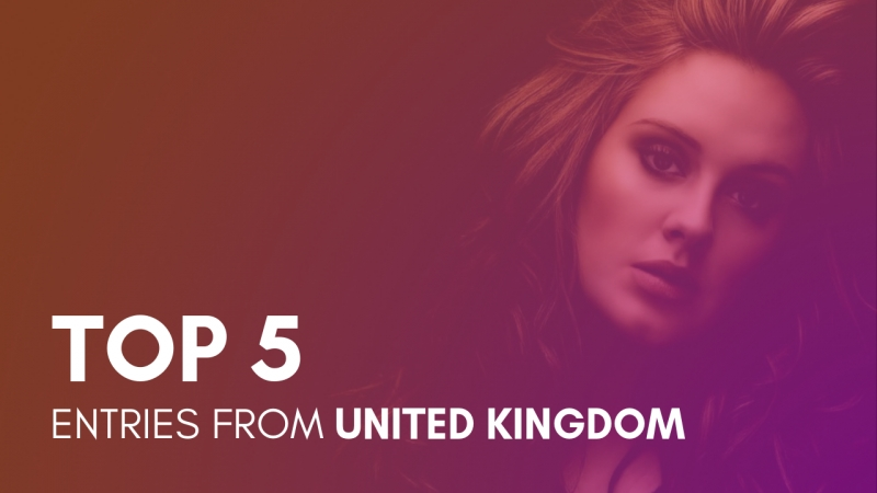 TOP 5: Entries from the UK • Risevision Song Contest