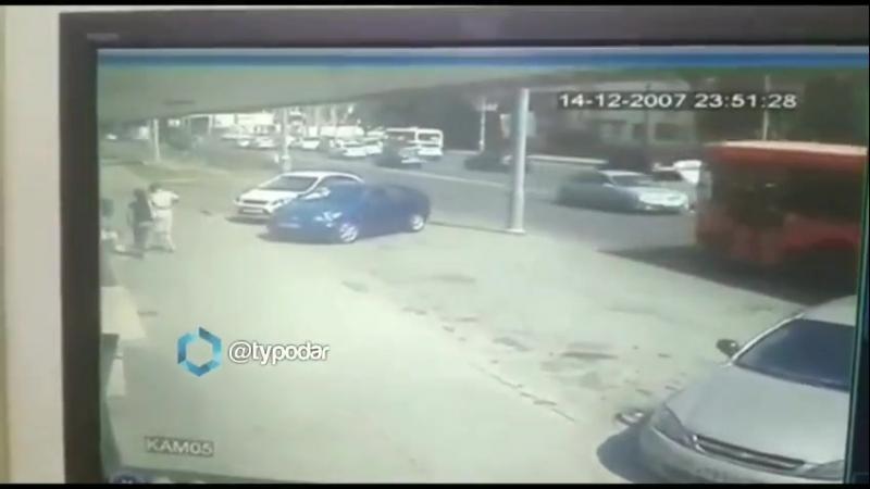 ДТП на Селезнева Старокубанская Краснодар 24 августа