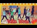 Тренировка Delta в ДЦ Гармония Самые старательные, младшие учат танец Мир кукол 5.10