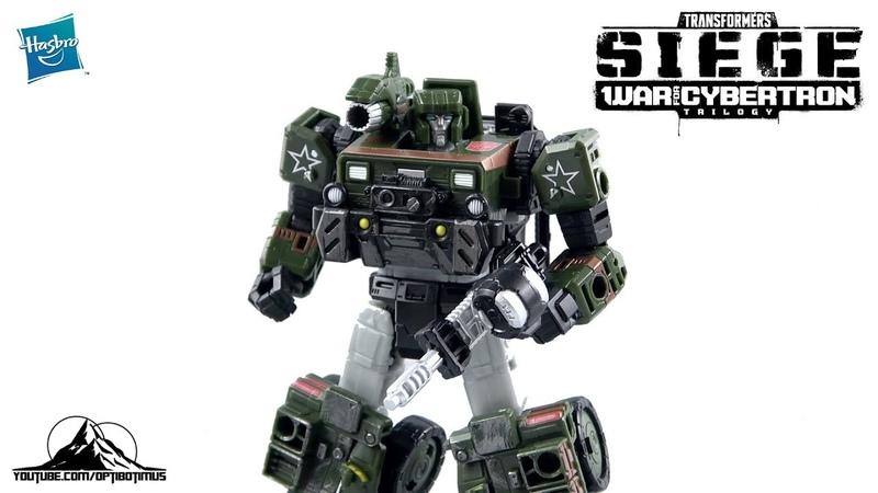 Optibotimus Reviews Transformers Siege Deluxe Class AUTOBOT HOUND