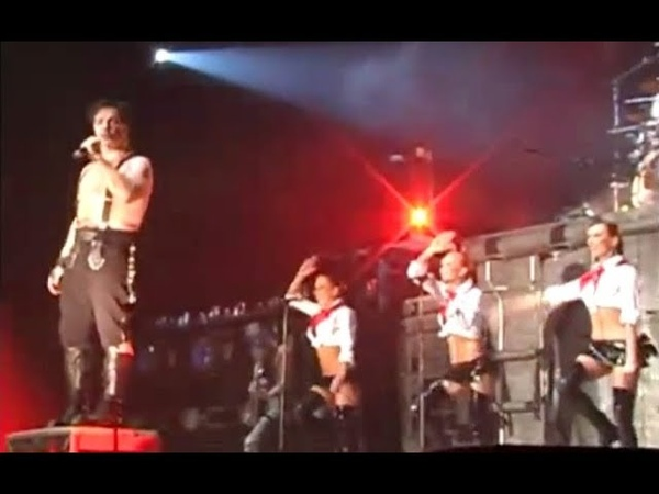 Rammstein - Moskau [LIVE] Moscow, Olympic Sports Complex, Russia, 2004.11.28 [VIDEO BOOTLEG]