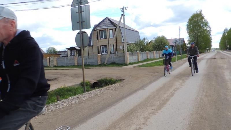 велопробег по Кочево