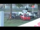 Liveleakcom - Racing Accident Splies Car in HalfГоночный автомобиль Пилот Валентины Томаселло уволен из своей машины в Суникс До