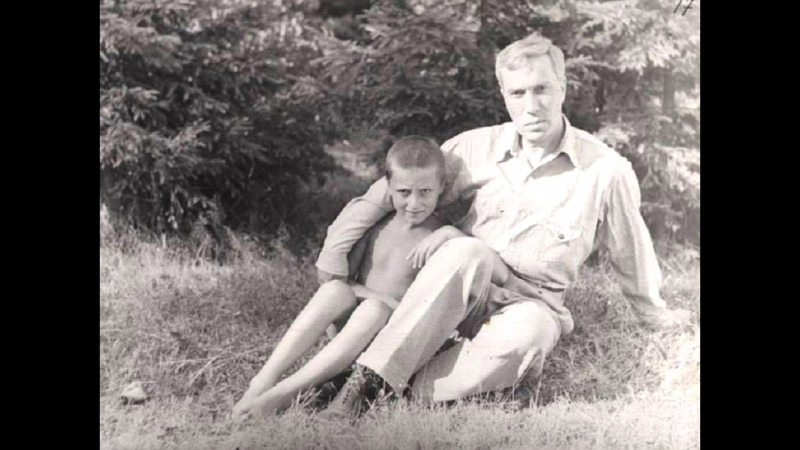 Леонид Борисович ПАСТЕРНАК, сын Бориса Леонидовича (фрагмент домашнего видео, по материалам, которые опубликовал Дом-музей Борис