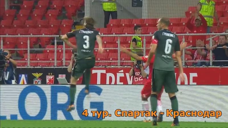 Пенальти, которые не бил Спартак Сезон 2016 2017 Осенняя часть