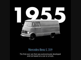История Mercedes-Benz Vans