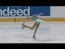 Анна Щербакова. Этапы юниорского Гран-при Братислава, 2018. Короткая программа. HD