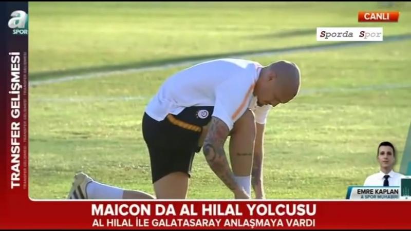 "Galatasaray ın Stoperi Maicon "" Al Hilal ""de"
