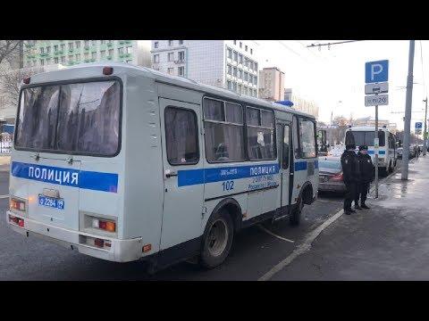 Протест против выселения из общежития Минобороны в Москве LIVE 08 02 19