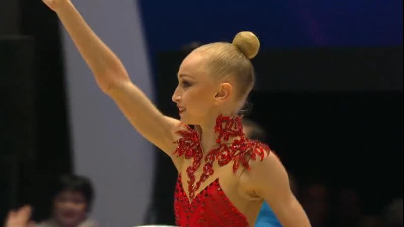 Виктория Оноприенко Обруч Финал Гран При Холон 2019