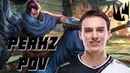 Perkz pro Yasuo gameplay G2 vs MSF POV LEC 2019 Spring League of Legends