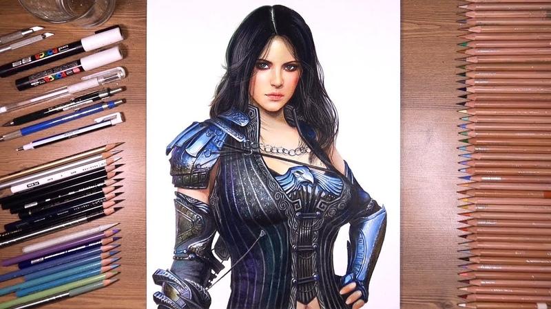 Drawing Sorceress - Black Desert Mobile | drawholic