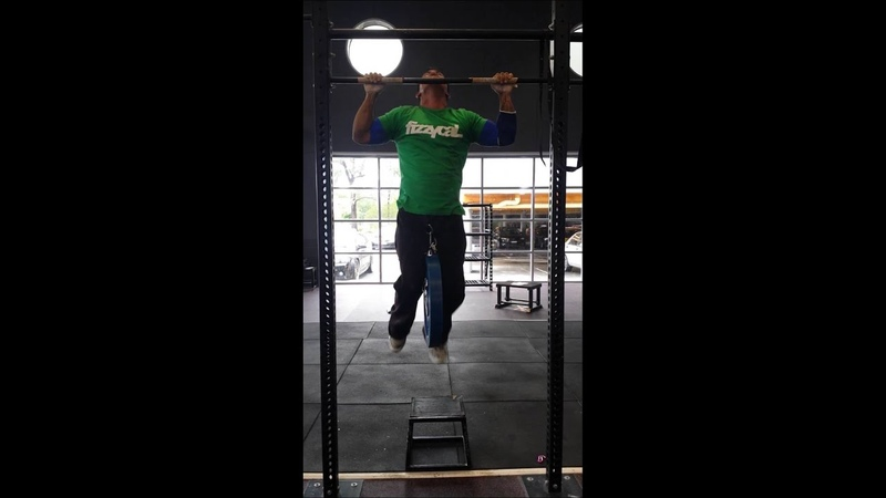 20kg weighted pullup