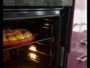 ролик в духовке кабачки