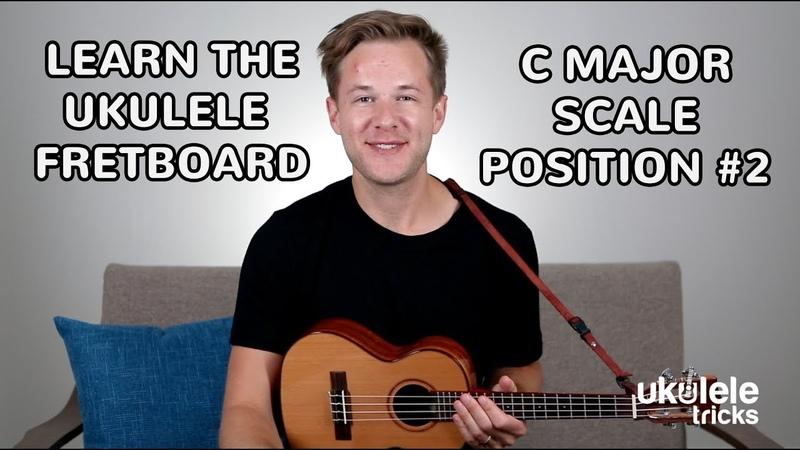 Ukulele Scales How to Play C Major Scale Position 2 on Ukulele