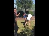 2 girls fighting from Vaca high