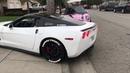 Corvette c6 ls3 w BORLA exhaust