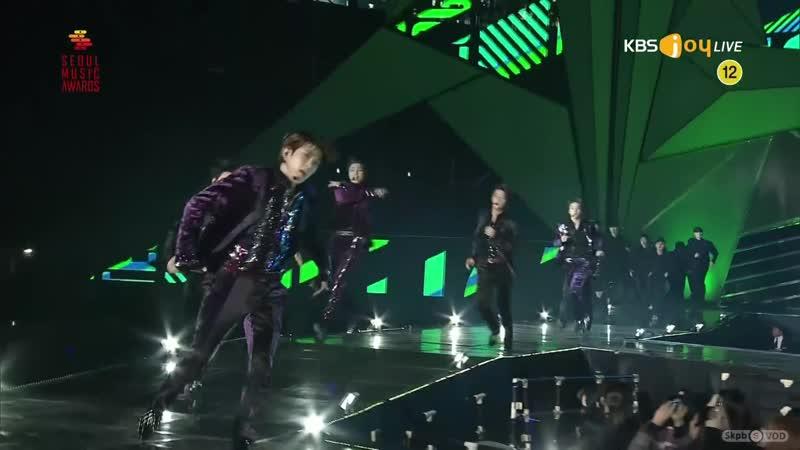 190115 NCT 127 (엔시티 127) - Simon Says Regular (레귤러) @ SMA 28th Seoul Music Awards [2K 60FPS]
