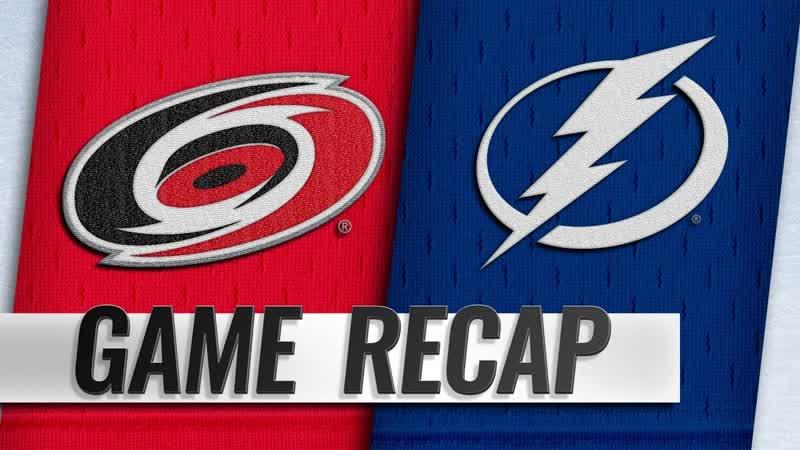 НХЛ - регулярный чемпионат. «Тампа-Бэй Лайтнинг» - «Каролина Харрикейнз» - 42 (11, 11, 20)