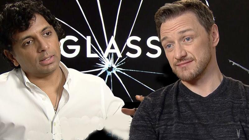 GLASS : M. Night Shyamalan et James McAvoy en interview