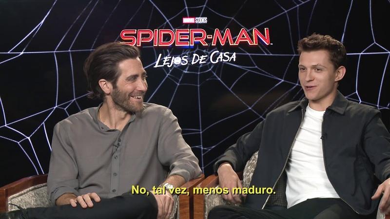 Tom Holland revela el secreto del traje de Spiderman