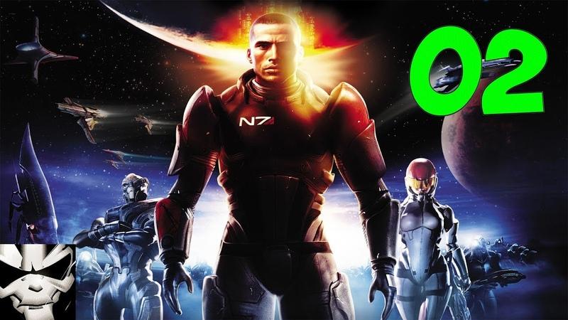 Прохождение Mass Effect. Часть 2. Лиара и Ферос