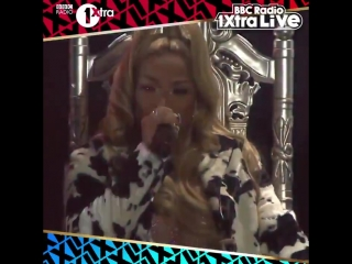 Biggest entrance of the night so far @stefflondon killed it - - Watch 1XtraLive as it happens