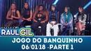 Jogo do Banquinho especial Mulheres do Funk Parte 1 Programa Raul Gil 06 01 18