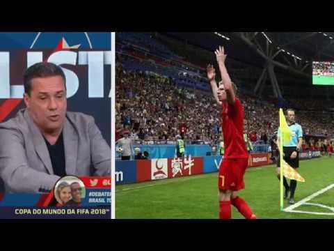 Abel elogia o futebol belga ao eliminar o Brasil, e critica somos muito educados tem que fazer falta