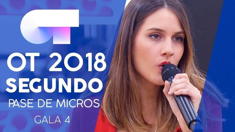 ESTRELLA POLAR - CARLOS y SABELA | Segundo pase de micros Gala 4 | OT 2018