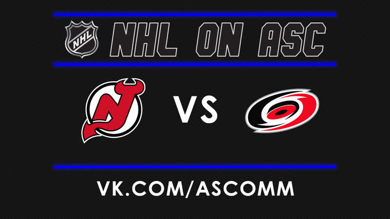 NHL   Devils VS Hurricanes