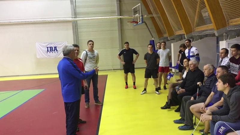 Мастер класс для сотрудников IBA GROUP от Эуарда Малофеева