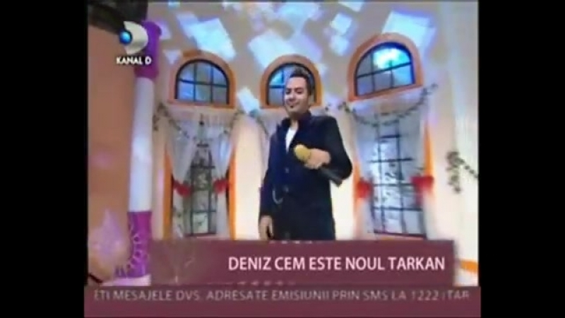 Deniz Cem - And i am dreaming ( Kanal D Romania )