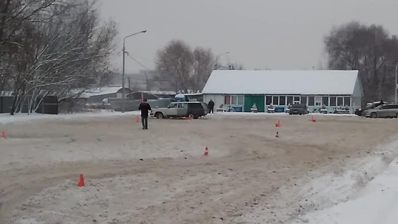Волга Царь на трассе
