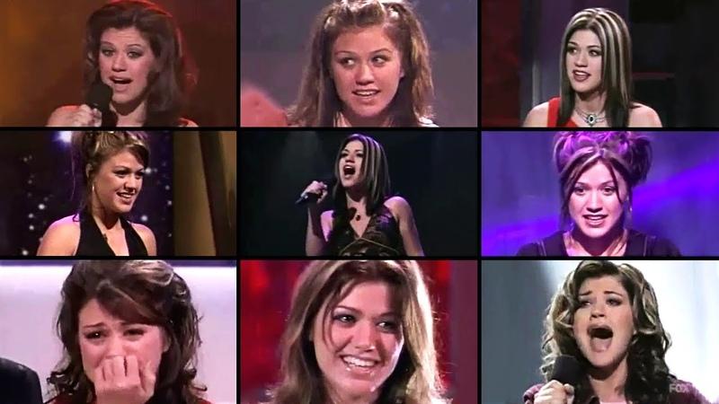 Kelly Clarkson on American Idol Season 1 (Performances Appearances) 2002