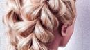 Простая и Красивая Прическа на Длинные Волосы. QUICK AND EASY HAIRSTYLES Прическа на 1 сентября