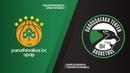 Panathinaikos OPAP Athens - Darussafaka Tekfen Istanbul Highlights EuroLeague RS Round 12