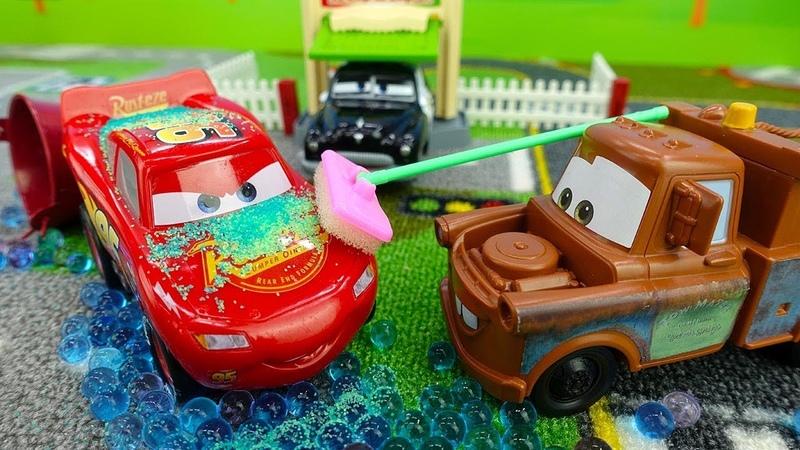 Тюнинг для Маквина. Мультики про гоночные машинки. Видео для мальчиков.
