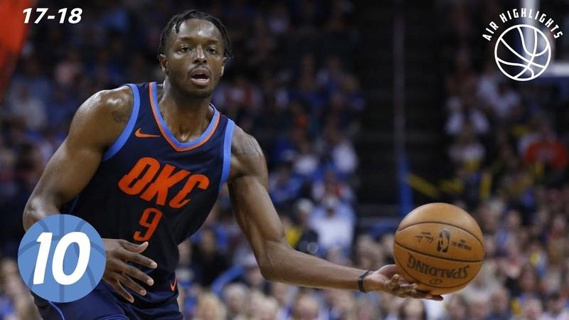 Jerami Grant Top 10 Plays from 2017 2018 NBA Regular Season