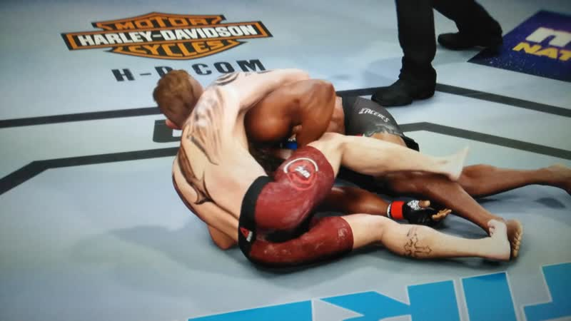 EA UFC 3 Submission 2